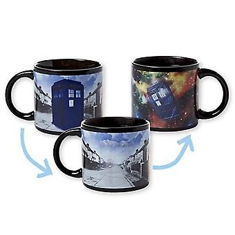 Mug - UPG - Doctor Who's - Disappearing Tardis New Coffee Cup 1605