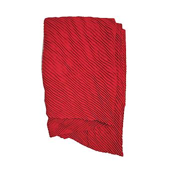Pleated Scarf - Red by Peony