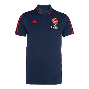 2019-2020 Arsenal Adidas Polo Shirt (Navy)