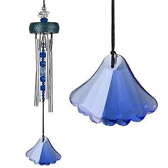 Sapphire Gem Drop Wind Chime