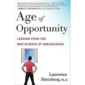 Âge des chances par Laurence D. Steinberg - livre 9780544570290