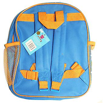 Baby Shark Childrens School Backpack Bag, Blue