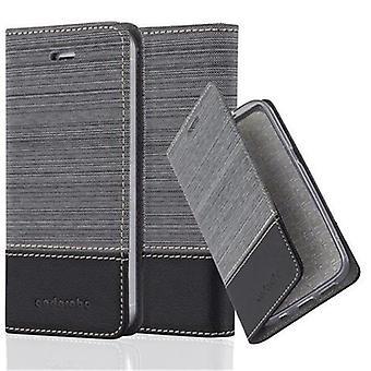 Cadorabo sag til Apple iPhone 5 / iPhone 5S / iPhone SE sag dække - telefon sag med magnetisk lås, stå funktion og kortrum - Sag Cover Beskyttende sag sag bog Folding Style