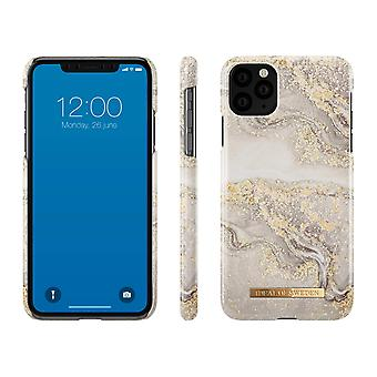 iDeal af Sverige iPhone 11 Pro Max Shell-gnistre Greige marmor