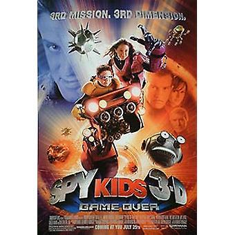 Spy Kids 3D (yksipuolinen säännöllinen) alkuperäinen elokuva julisteet