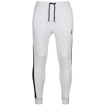 Soulcal Mens Gents algemado hem jogging calças Sweatpants esportes calças Bottoms