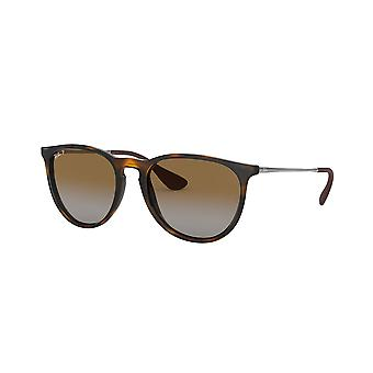 रे-बान एरिका RB4171 710/T5 हवाना/ध्रुवीकृत ब्राउन ढाल धूप का चश्मा