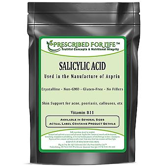 Salicylic Acid - Vitamin B11 Powder - Used in Common Pain Relievers