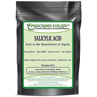 Ácido salicílico - Pó da vitamina B11 - usado em apaziguadores comuns da dor