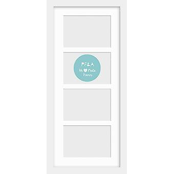721 White Multi Aperture Photo Picture Frame Instagram Poster Modern Collage