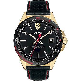 Scuderia Ferrari Men's Watch Pilota 0830490