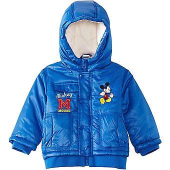 Los chicos Disney Mickey Mouse bebé invierno con capucha / Parka