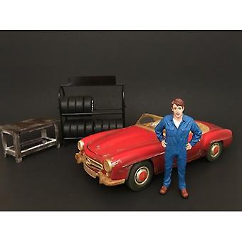 Mechaniker John Inspizierung Figur für 1:24 Maßstab Modelle von American Diorama