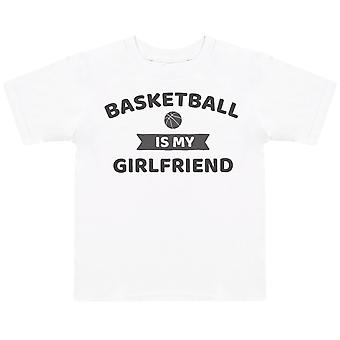 Basketball Is My Girlfriend- Kids T-Shirt