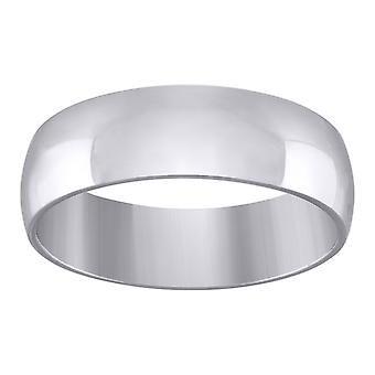 925 Sterling Silver Mens 7mm Dome Comfort fit Wedding Engagement Anniversary Band Ring Jewelry Gifts for Men - Ring Size