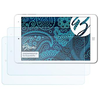 Bruni 2x Screen Protector compatible with Chuwi Hi8 Pro Protective Film