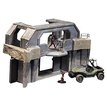 Halo Micro Ops Série 1 Boîte Set Turret Warthog