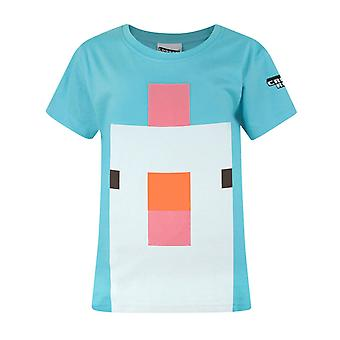 Crossy Road Chicken Face Girl's T-Shirt