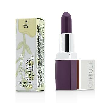 Cor do lábio pop clinique + primer # 16 grape pop 188272 3.9g/0.13oz