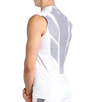 Under Armour Mens CoolSwitch Supervent Sleeveless Sports Training Vest - White