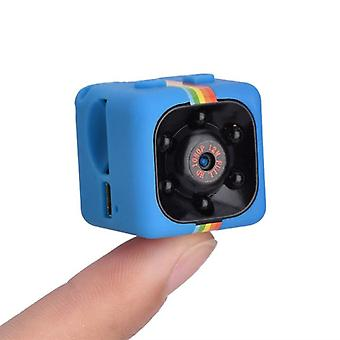 Stuff Certified® SQ11 Mini DVR Security Action Camera HD 1080p LED Infrared Motion Detector Blue