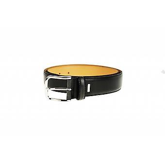 Stilvolle schwarze Pantalon Gürtel