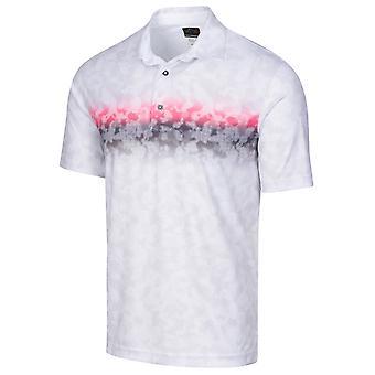Greg Norman Mens 2020 ML75 Cloud Moisture Wicking Golf Polo Shirt