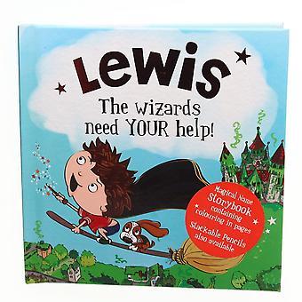 Historia & Heraldry Magical Name Storybook - Lewis