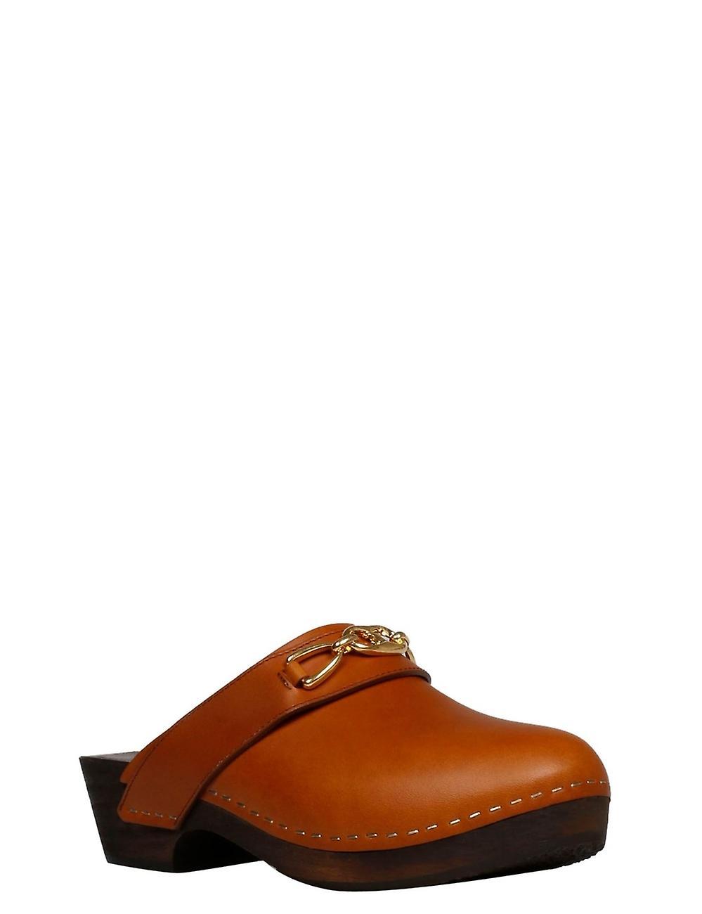Céline 336623363c04lu Women's Brown Leather Slippers
