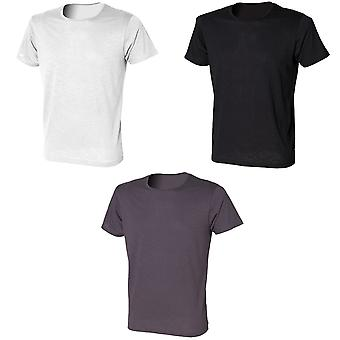 Skinni Fit Mens Slub T-Shirt