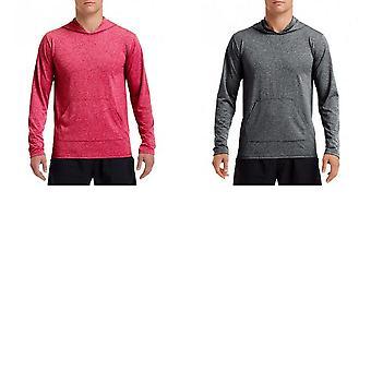 Gildan Mens prestaties Hooded lange mouwen T-Shirt