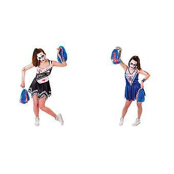 Bristol Novelty Womens/Ladies Zombie Cheerleader Costume