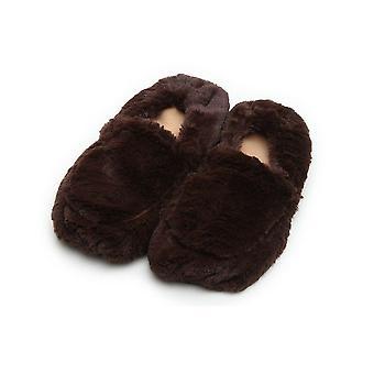 Warmies Brown Slippers