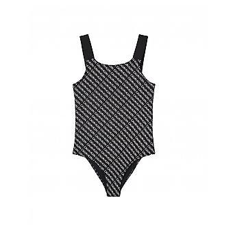 Calvin Klein U/wear All Over Logo Strój kąpielowy jednoczęściowy