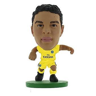 Soccerstarz Paris St Germain Thiago Silva (2018) AWAY Kit