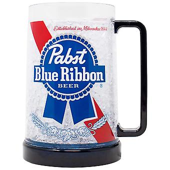Pabst Blue Ribbon Freezeable 16 Ounce Bier mok