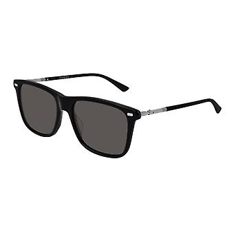 Gucci GG0518S 001 Black/Grey Sunglasses