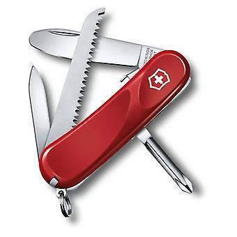 Victorinox Junior 09 Swiss Army Knife - Verriegelungsklinge mit abgerundeter Spitze