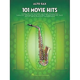 101 Movie Hits For Alto Saxophone