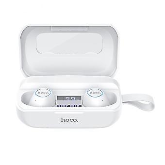 Hoco es37 tws langaton bluetooth-kuuloke digitaalinen näyttö in-ear kuuloke stereo vedenpitävä kuulokkeet mikrofoni