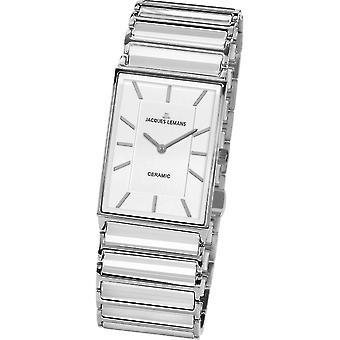 Jacques Lemans - Wristwatch - Ladies - York - High Tech Ceramic - 1-1858B