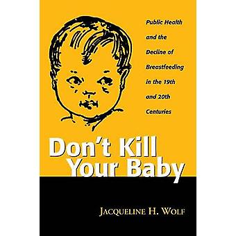 DONT KILL YOUR BABY PUBLIC HEALTH AND THE DECLINE OF BREASTF IN THE 19TH AND 20TH CENTURIES by WOLF & JACQUELINE