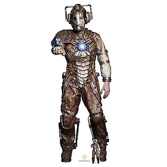 Ashad The Lone Cyberman de The 13th Doctor Who Official Cardboard Cutout / Standee
