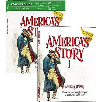 America's Story Vol. 1 Set by Angela O'Dell - 9781683440574 Book
