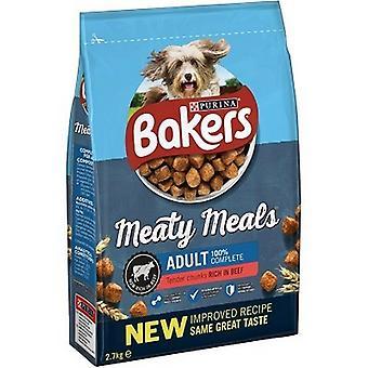 Bakkers Meaty Maaltijden Rundvlees Complete Semi Moist Dog Food