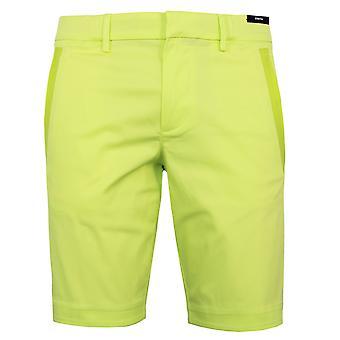 Hugo boss men's liem4-10 fluorescente verde stretch chino pantaloncini