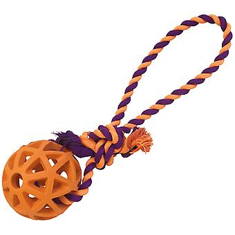 Gloria Pets Atomball With Rope (Dogs , Toys & Sport , Balls)