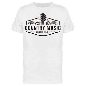 Country Music Nightclub Design Tee Men's -Kuva Shutterstock