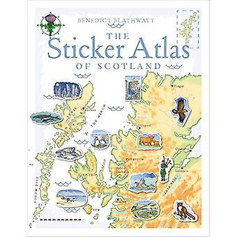 The Sticker Atlas of Scotland by Benedict Blathwayt - 9781780274126 B