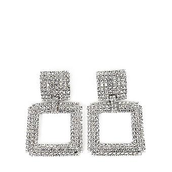 Alessandra Rich Faba2024001 Mujer's Pendientes de metal de plata